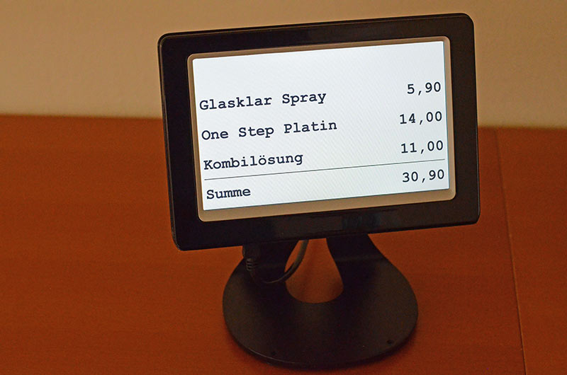 Service USB display